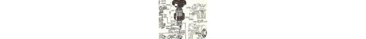 Pièces détachées  echappement - filtre a air  Bernard W110BIS, W610, W810