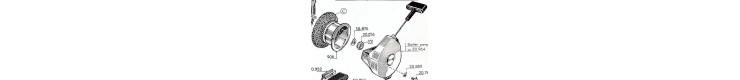 Pièces détachées  lanceur automatique Bernards W17, W117BIS, W217, W27, W127BIS, W227