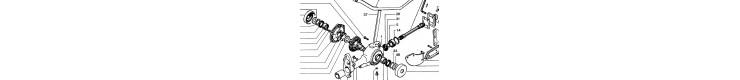 sarclo fraise motoculteur  Staub 8100-8500-9600-9600DEL