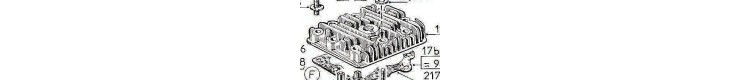 Pièces détachées moteurs Bernard 19A,  139A, 239A, 29A, 49A, 249A