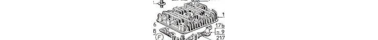 Pièces détachées  culasse-bielle-piston Bernards W617, W717